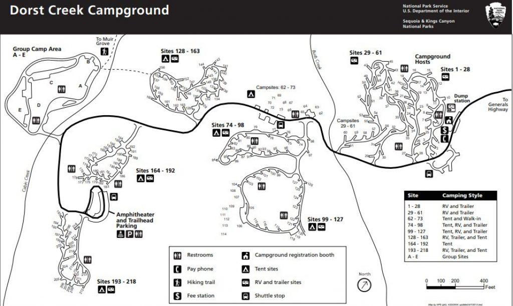 Dorst Creek Campground Best Sites