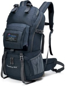 mountaintop 40 liter hiking backpack image