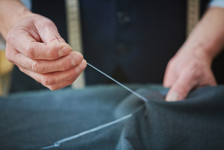 sewing cloth