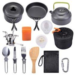 G4Free Camping Cookware Mess Kit