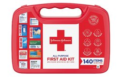 Johnson & Johnson All-Purpose Portable Compact Emergency First Aid