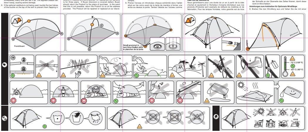 tent pop up manual