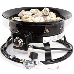 Heninger Portable Propane Outdoor Fire Pit
