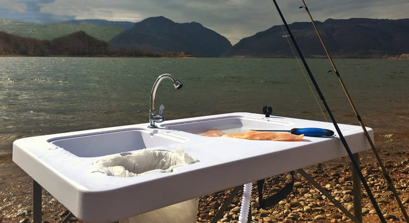 Type of Camping Table with Sink