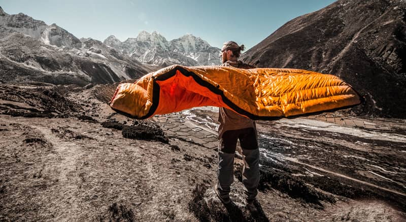 Ultralight Backpacking Sleeping Bag