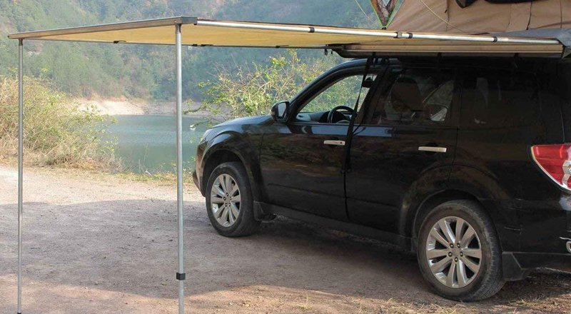 Homgrace Car Side Awning Tent Shelter